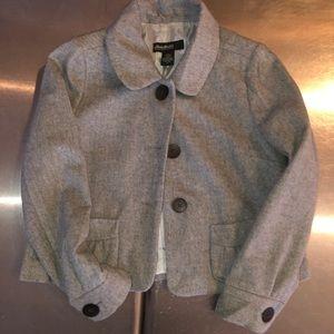 EDDIE BAUER cropped 1/4 length jacket